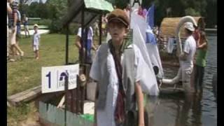 preview picture of video 'Co ma pływać nie utonie XII Mistrzostwa Augustów 2007'