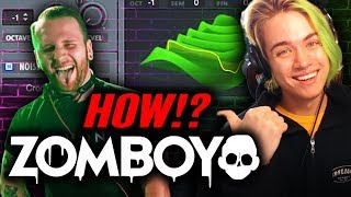 How To ZOMBOY (Producing With MOONBOY ft. Borgore)