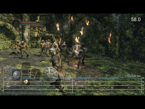 Dark Souls II: Scholar of the First Sin – PS4 framerate test