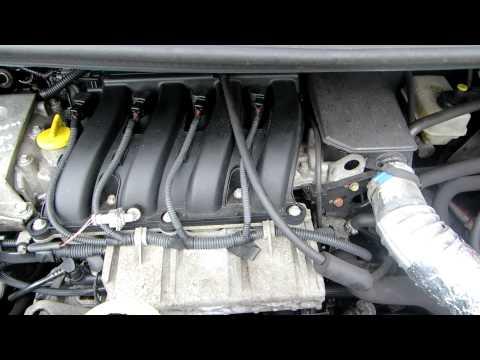 Die Düse auf reno szenik 2 Benzin