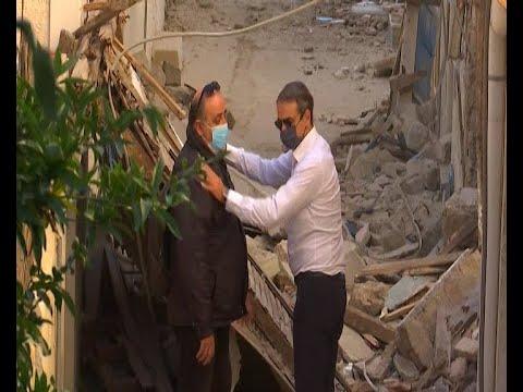 Λουλούδια από τον πρωθυπουργό στο σημείο που έχασαν τη ζωή τους τα παιδιά στη Σάμο