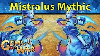 Gems of War: Mistralus Mythic, Key Opening, and Teams