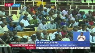 24/10/2016 : Kenya U-23 volley ball team loses to Egypt in Kasarani, 24/10/2016
