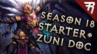 Diablo 3 Season 18 Witch Doctor Starter & Zunimassa build guide - Patch 2.6.6 (Beginner)