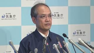 福岡・大分の大雨特別警報を解除気象庁が会見2017年7月6日