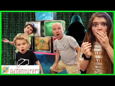 VILLAINS The Next Level - The Mystery Box Unleashes HACKER! / That YouTub3 Family I The Adventurers