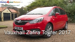 Vauxhall Zafira Tourer 2017 Review