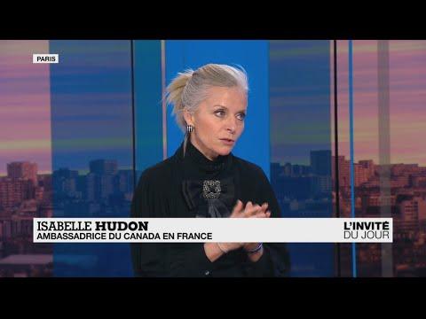 """Isabelle Hudon, ambassadrice du Canada : """"J'entends les craintes des agriculteurs français"""""""