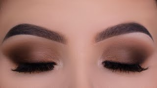 Classic Everyday Brown Eye Makeup Tutorial