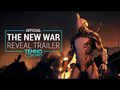 Warframe : TennoCon 2021   The New War Reveal Trailer   Official