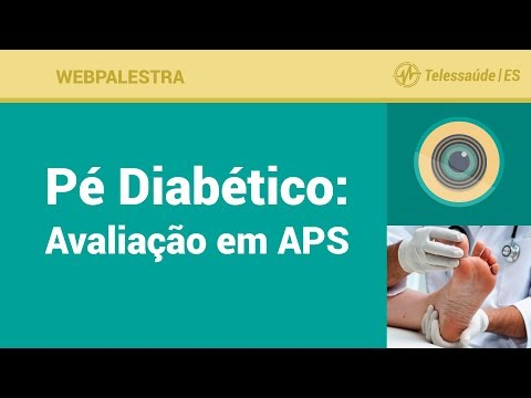 Ferida no pé em diabetes do que remediar