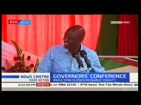 The Governors' Induction conference to conclude in Kwale County