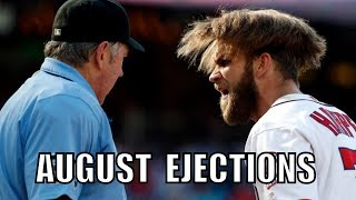 MLB | 2016 August Ejections ᴴᴰ