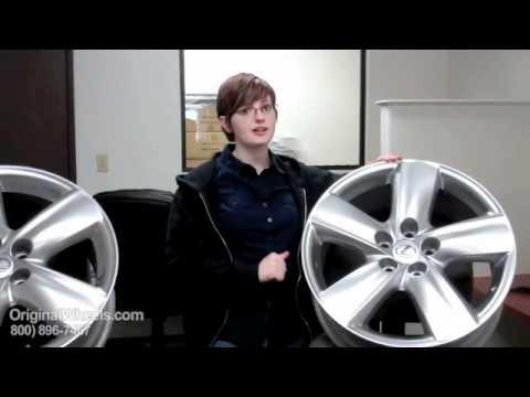 GX 460 Rims & GX 460 Wheels - Video of Lexus Factory, Original, OEM, stock new & used rim Co.