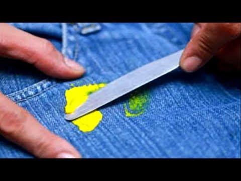 Как отстирать слайм с одежды