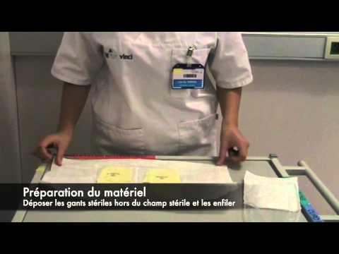 comment poser une sonde urinaire video