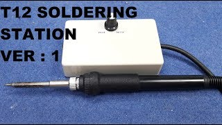 Gambar cover T12 Soldering Station Ver 1 | How To Make Soldering Station #1