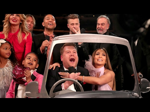 Blue Ivy Crashes James Corden's All-Star Carpool Karaoke at 2017 Grammys