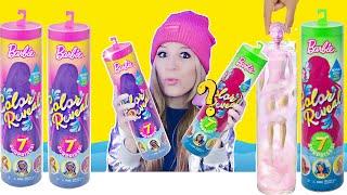 Barbie Color Reveal komplett auspacken! Barbie Fashion Doll Puppen Spielzeugtest deutsch I PatDIY