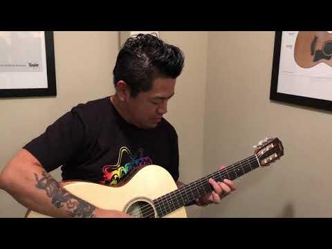 NAMM 2018 - Taylor Guitars Tour Factory - San Diego California USA - J S Bach Fugue 1000