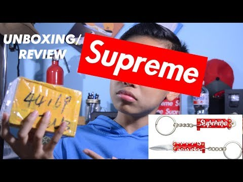 Supreme Butterfly Knife Review/Unboxing!