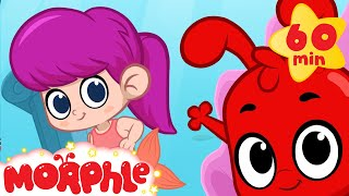 Mermaid Girl Meets Morphle And Mila +1 Hour Funny Morphle Kids Videos Compilation