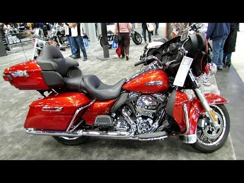 2014 Harley-Davidson Touring Ultra Classic Electra Glide Walkaround - 2013 New York Motorcycle Show