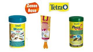 Test pokarmów Tetra: Micro Crisps, Pleco XL Tablets, Delica