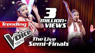 Madhuvy Vaithialingam | Urvasi Urvasi | The Live Semi Finals | The Voice Teens Sri Lanka