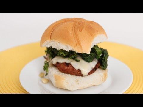 Sausage & Broccoli Rabe Burgers Recipe – Laura Vitale – Laura in the Kitchen Episode 608