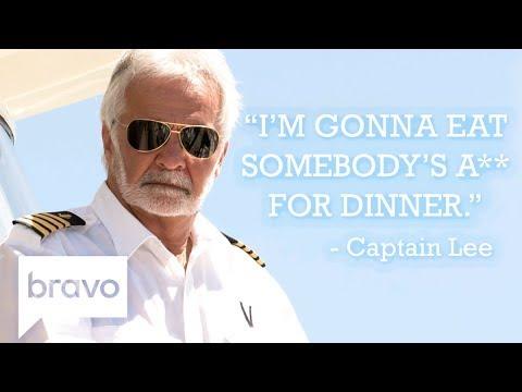 Captain Lee's Best One Liners | Below Deck | Bravo