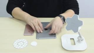 Крепление магнитное для планшета и телефона Ledetech T4 от компании ErgoLife - видео
