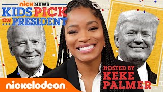 """""""Kids Pick the President"""" Hosted by Keke Palmer   Nick News 2020 Election Special"""