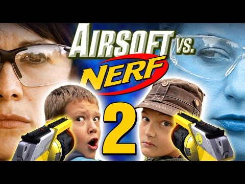 Airsoft vs Nerf 2