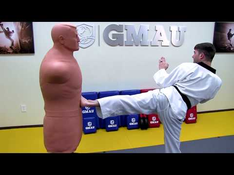 Best Taekwondo Side Kick Tutorial (Breakdown + Drill) Yop Chagi