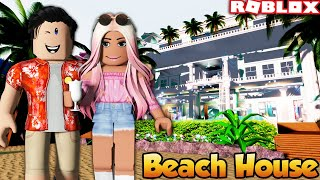 WE BOUGHT A BEACH HOUSE IN ROYALE HIGH | Roblox