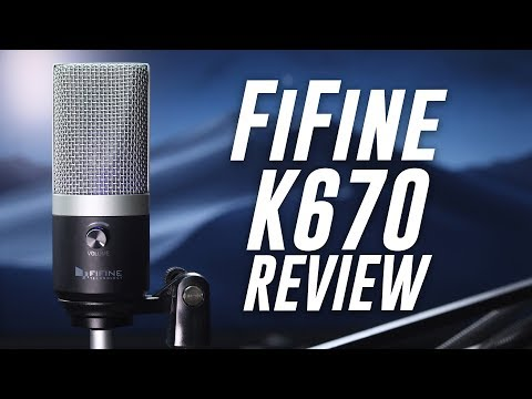 FiFine K670 USB Microphone Review / Test