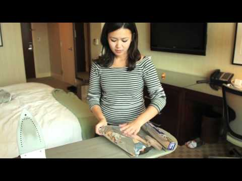 Cook Breakfast In A Hotel Room With An Iron And Coffeemaker