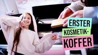 Erster Kosmetikkoffer / dekorative Kosmetik sortieren / kinder_sein / frau_sein