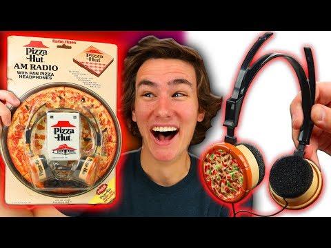 Pizza Hut Made Headphones?