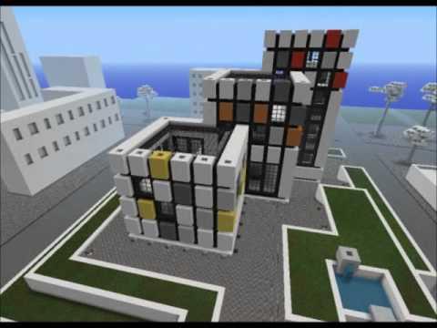 Modern Architecture Minecraft modern house series - colossanctum church minecraft project