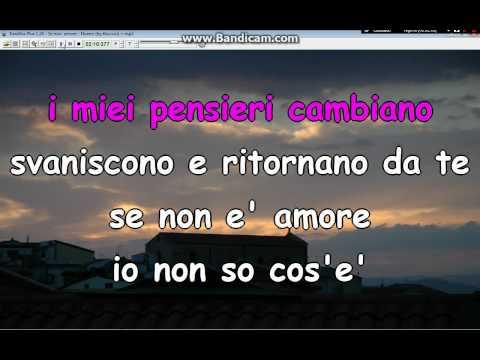Se non amore   Noemi by Tituccio KARAOKE +testo Ascoli Satriano