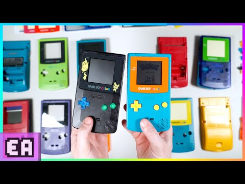 BUILD YOUR OWN CUSTOM GAMEBOY