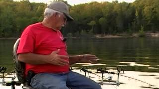 Setting Boat up for Crappie Spider Rigging