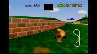 Mario Kart 64 - LR flap in 31''92
