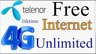 How To Use Free Internet Unlimited On Telenor 2019