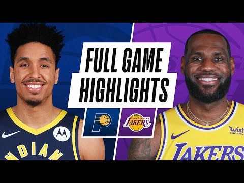 PACERS at LAKERS | FULL GAME HIGHLIGHTS | March 12, 2021