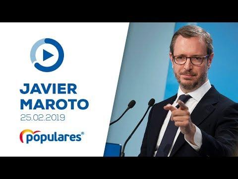 Rueda de prensa de Javier Maroto tras la reunión del Comité de Dirección
