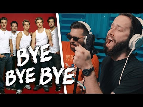*NSYNC - Bye Bye Bye (METAL Cover By Jonathan Young & Caleb Hyles) Mp3