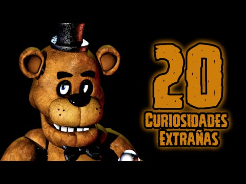 TOP 20: Las 20 Curiosidades Extrañas De Freddy De Five Nights At Freddy's | fnaf | fnaf 2